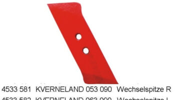 Долото плуга, Kverneland