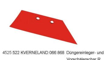 Лемех предплужника, Kverneland